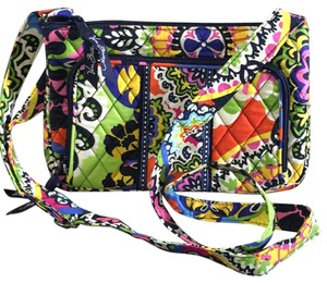 Vera Bradley Vera Fabric Floral Cross Body Bag