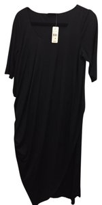 Natori Pleated Day & Night Ruched Cocktails Draped Dress