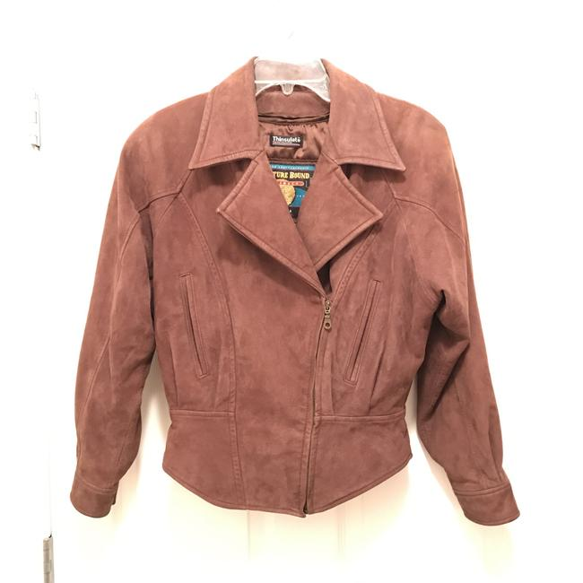 Item - Brown Suede Thinsulate 3m Zip-out Lining Jacket Size 6 (S)