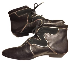 Michael Mango Black/ METALLIC-Silver/Bronze/Gold Boots