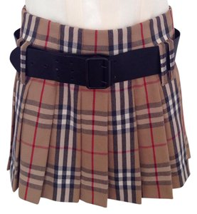 Burberry Mini Skirt brown/ black