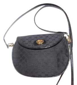 Gucci Perfect Everyday Excellent Vintage Earlier Style Or Casual Cross Body Bag