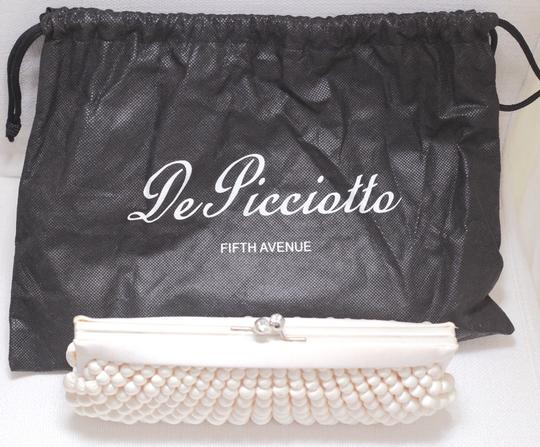 De Picciotto White Clutch