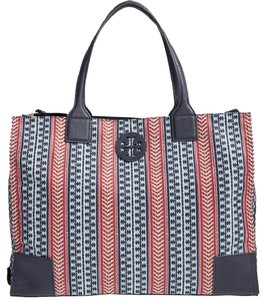 Tory Burch Nylon Ligthweight Packable Tote in multi