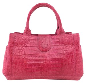 Nancy Gonzalez Tote in Pink