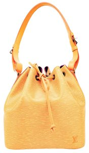 Louis Vuitton Bucket Tote Epi Petit Noe Shoulder Bag