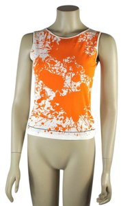 Hermès Abstract Sleeveless Top Multicolor