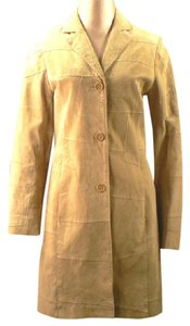 Wet Seal Neutral Trench Coat