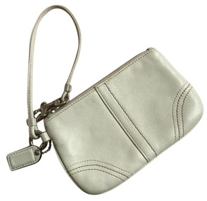 Coach Wristlet in Off-white