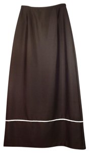 Kay Unger Maxi Skirt Black