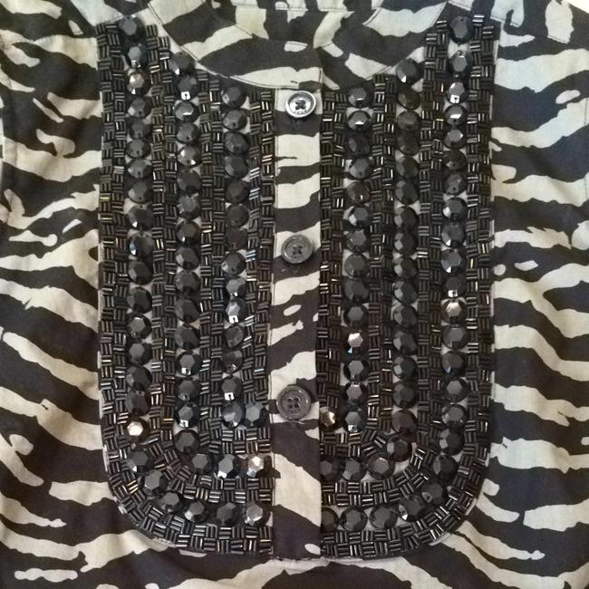 Michael Kors Top Animal Print
