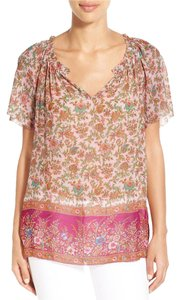 Lucky Brand Top Pink Multi