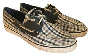Sperry Topsider Patterned Blue Athletic