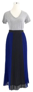Romeo & Juliet Couture Maxi Skirt Cobalt Blue, Black