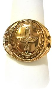 DeWitt's Vintage 10K Gold Air Corps Ring