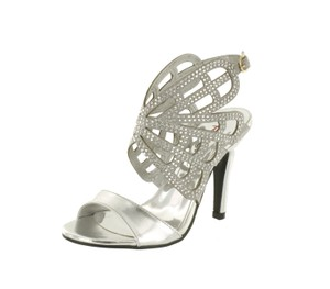 Red Circle Footwear Silver Pumps