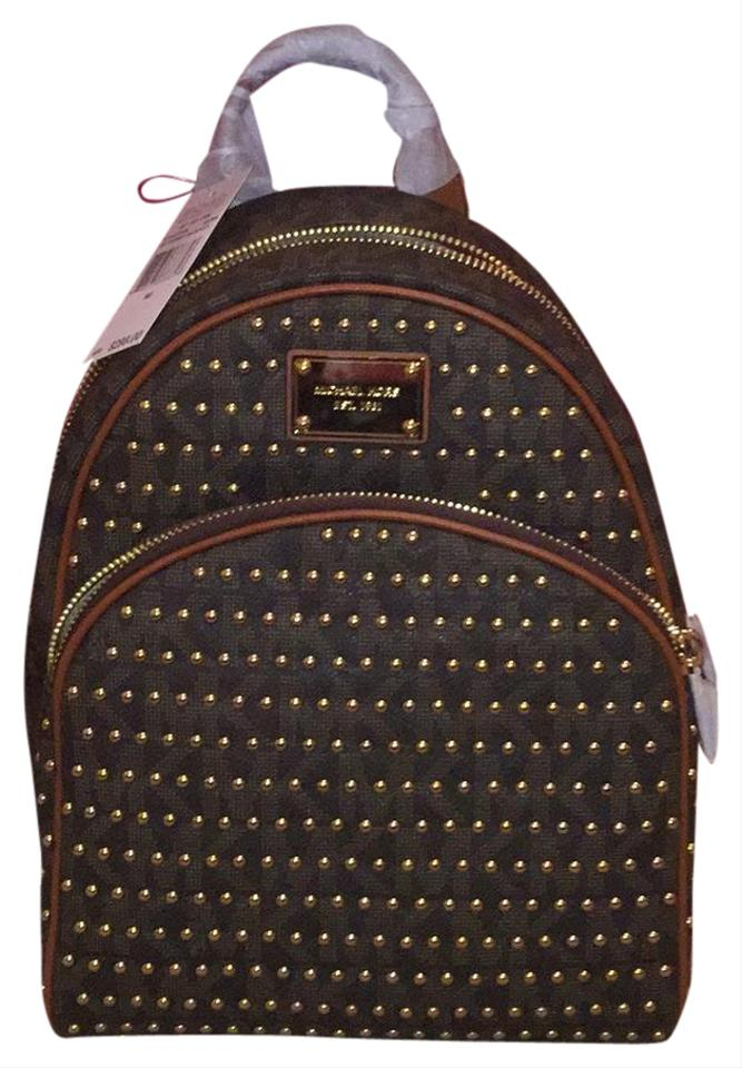 018ab8528e00aa norway michael kors 30t4gttb1b brown and gold backpack e4a57 f8bde
