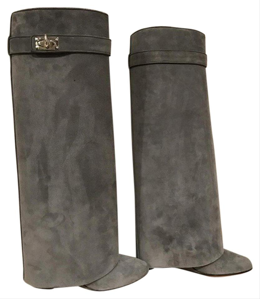 Givenchy Shark Boots Suede