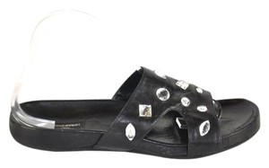Sonia Rykiel Embellished Black Sandals