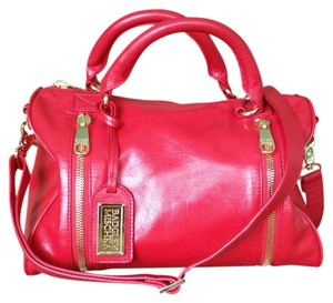 Badgley Mischka Satchel in Red