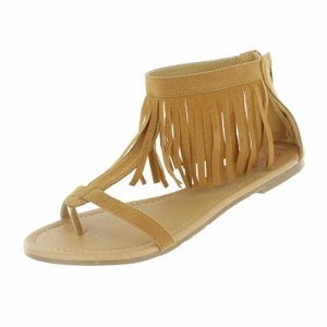 Red Circle Footwear Tan Sandals