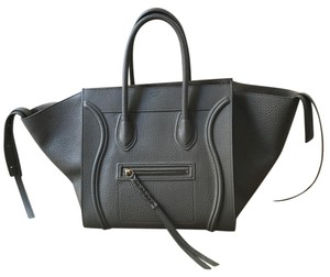Céline Tote in Taupe, Grey