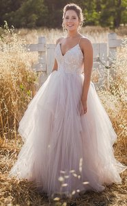 Hayley Paige Nicoletta Gown Style 6560 Wedding Dress