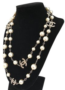 Chanel BRAND NEW CHANEL Classic Pearl 5 CC Logo Dual Sided Crystal