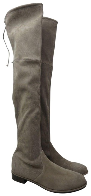 Item - Topo Grey Lowland Over The Knee Suede Boots/Booties Size US 9.5 Regular (M, B)