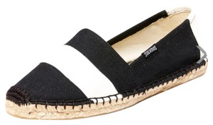 Soludos Black and white Flats
