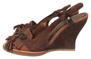 Nine West Western Cowgirls Nashville Brown Sandals