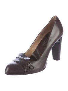 Tod's Penny 9 Brown Pumps
