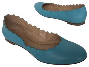 Chlo Chloe Turkish Blue Flats
