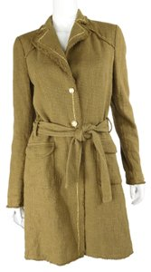 Roberto Cavalli Tweed Trench Trench Coat
