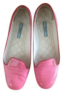 Prada Pink with red piping Flats