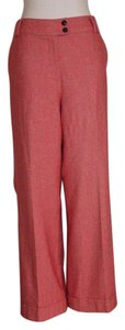 Talbots Career Wide Leg Trouser Pants PINK