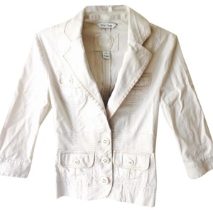 White House | Black Market Creme Blazer