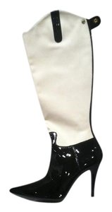 Ralph Lauren Collection Black and White Boots