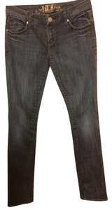 !iT Jeans Straight Leg Jeans-Dark Rinse