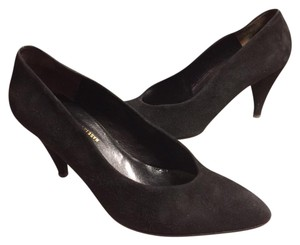 Charles Jourdan jet black Pumps