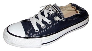 Converse All Star Shoreline Sneaker Navy Stretch Heel Blue Flats