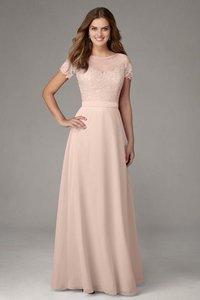 Blush Morilee Style 124 (color: Blush) By Madeline Gardner Dress