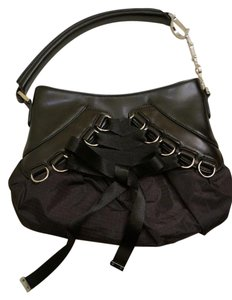 Dior Lace Up Shoulder Bag