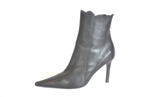 Vicini Ankle Pointed Toe Black Boots
