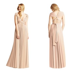 Twobirds Rosewater Classic Ballgown Dress