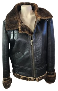 Tasha Polizzi Brown Leather Jacket