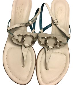 Coach off white Sandals