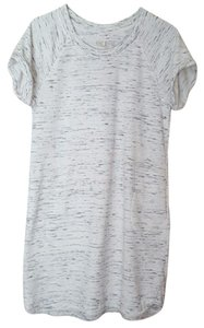 Saint Tropez West short dress Grey, White on Tradesy