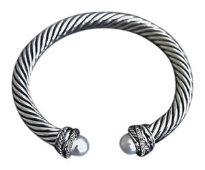 David Yurman David yurman cable bracelet with diamond