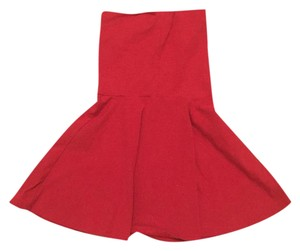 American Apparel Highwaist Skirt Solid dark pink